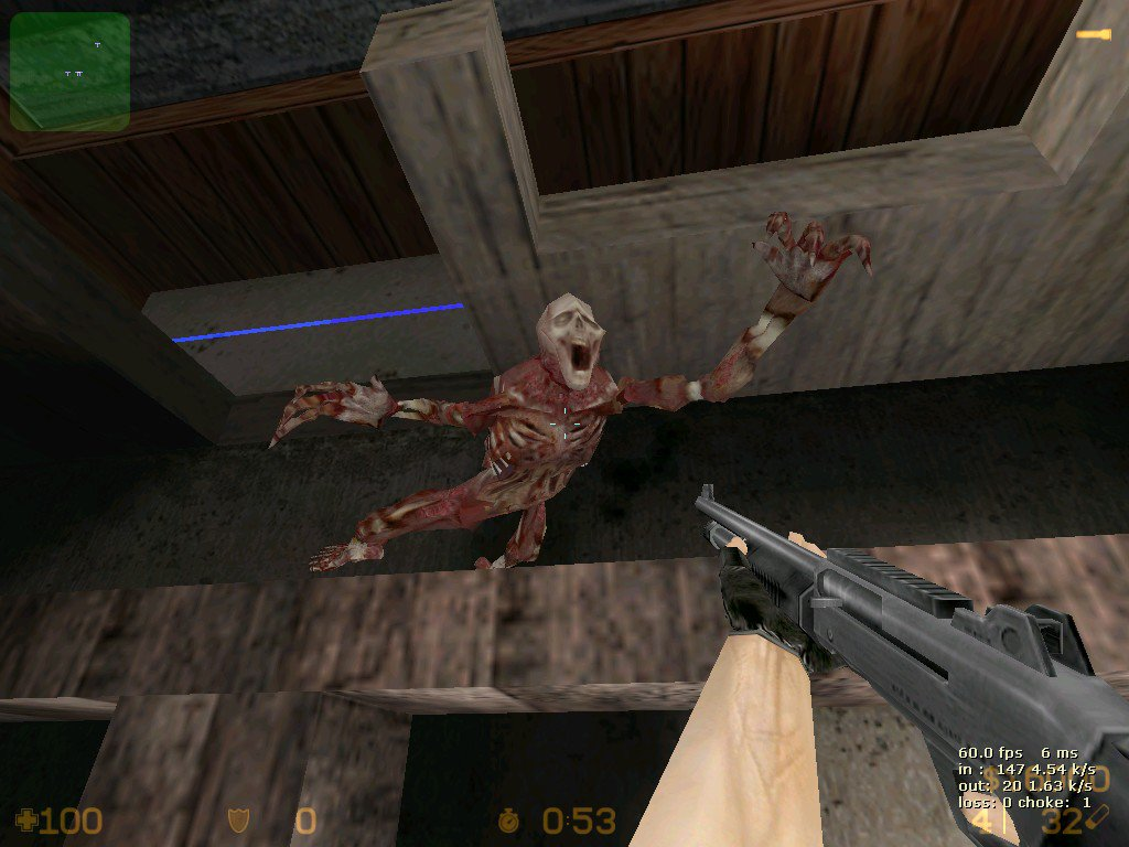 Counter-strike 1. 6 zombie mod for download + in bot 2016/2017.